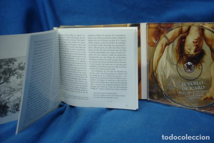 CDs de Música: EL VUELO DEL ÍCARO - MÚSICA PARA EL EROS BARROCO - LAUDA 2005 - Foto 3 - 263587335