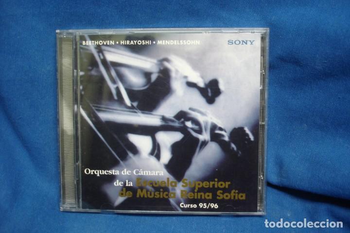 BEETHOVEN, HIRAYOSHI, MENDELSSOHN - ESCUELA REINA SOFÍA 95/96 - SONY 1996 (Música - CD's Clásica, Ópera, Zarzuela y Marchas)