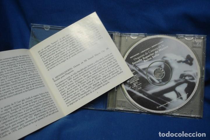 CDs de Música: BEETHOVEN, HIRAYOSHI, MENDELSSOHN - ESCUELA REINA SOFÍA 95/96 - SONY 1996 - Foto 2 - 263589075