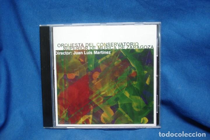 ORQUESTA DEL CONSERVATORIO DE ZARAGOZA - JUAN LUIS MARTÍNEZ - AÑO 2002 (Música - CD's Clásica, Ópera, Zarzuela y Marchas)