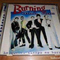 CDs de Música: BURNING 2 CD -MIGUEL RIOS-RAMONCIN-ASFALTO-TOPO-CASABLANCA(COMPRA MINIMA 15 EUR). Lote 263600770