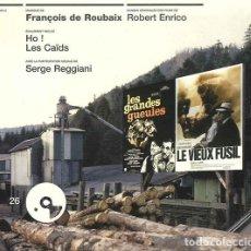 CDs de Música: LES GRANDE GUEULES + HO ! + LES CAIDS + LE VIEUX FUSIL / FRANÇOIS DE ROUBAIX CD BSO. Lote 263611175