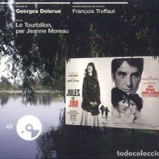 CDs de Música: JULES ET JIM + LES DEUX ANGLAISES ET LE CONTINENT / GEORGES DELERUE CD BSO. Lote 263611750