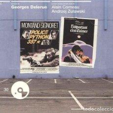 CDs de Música: POLICE PYTHON + L´IMPORTANT C´EST D´AIMER... / GEORGES DELERUE CD BSO. Lote 263611900