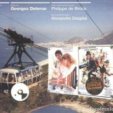 CDs de Música: L´HOMME DE RIO + LES TRIBULATIONS D´UN CHINOIS EN CHINE / GEORGES DELERUE CD BSO. Lote 263611945