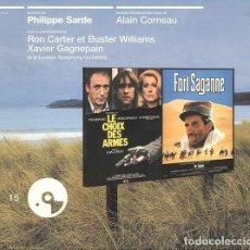 CDs de Música: LE CHOIX DES ARMES + FORT SAGANNE / PHILIPPE SARDE CD BSO. Lote 263612005