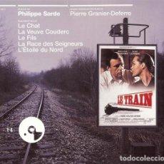 CDs de Música: LE TRAIN + LE CHAT + LE VEUVE COUDERC + LE FILS + LA RACE + L´ETOILE NORD / PHILIPPE SARDE CD BSO. Lote 263612075