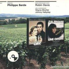 CDs de Música: LE CHOC + J´AI ÉPOUSÉ UNE OMBRE / PHILIPPE SARDE CD BSO. Lote 263612170