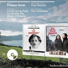 CDs de Música: LE JUGE FAYARD + UN TAXI MAUVE + LE CLÉ SUR LA PORTE + LA FEMME FLIC... / PHILIPPE SARDE CD BSO. Lote 263612210