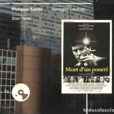 CDs de Música: MORT D´UN POURRI + EST-CE BIEN RAISONNABLE ? / PHILIPPE SARDE CD BSO. Lote 263612265