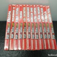 CDs de Música: GRANDES GRUPOS DEL POP & ROCK DE AQUÍ. COMPLETA 12 CD'S. (ENVÍO 4,31€). Lote 263613555