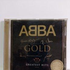 """CDs de Música: CD DE ABBA / """" GOLD """" 25 ANIVERSARIO / 1999.. Lote 263663065"""
