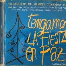 CDs de Música: VARIOUS - TENGAMOS LA FIESTA EN PAZ. Lote 263666605