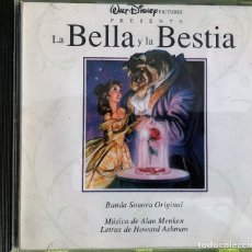 CDs de Música: ALAN MENKEN, HOWARD ASHMAN - LA BELLA Y LA BESTIA - BSO. Lote 263667025