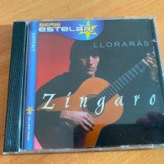 CDs de Música: ZINGARO (LLORARAS) CD ALBUM 11 CANCIONES (CDIB19). Lote 263692390