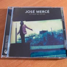 CDs de Música: JOSE MERCE (LO QUE NO SE DA) CD ALBUM 11 CANCIONES (CDIB19). Lote 263693985