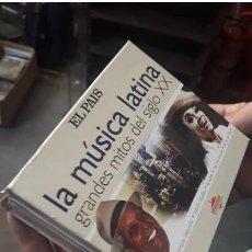 CDs de Música: LA MUSICA LATINA..GRANDES MITOS..6 CDS. Lote 263697155