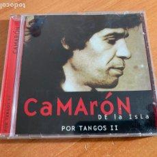 CDs de Música: CAMARON DE LA ISLA (POR TANGOS II) CD ALBUM 9 CANCIONES (CDIB19). Lote 263702630