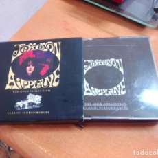 CDs de Música: JEFFERSON AIRPLANE - THE GOLD COLLECTION, DOBLE CD. Lote 263712070