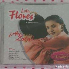 CDs de Música: LOLA FLORES (!AY LOLA¡ - LA ZARZAMORA) CD 2006 * PRECINTADO. Lote 263717115