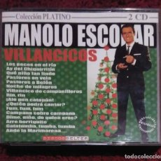 CDs de Música: MANOLO ESCOBAR (VILLANCICOS - COLECCIÓN PLATINO) 2 CD'S EDICIÓN PORTUGAL. Lote 263717295