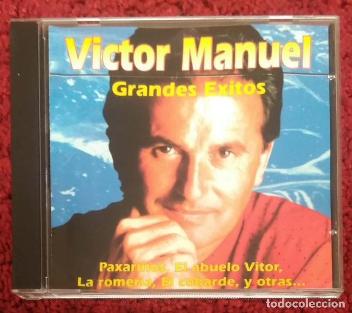 VICTOR MANUEL (GRANDES EXITOS) CD 1988 - 15 TEMAS MUSICAL 1 (Música - CD's Melódica )