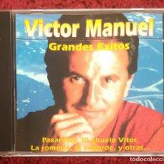 CDs de Música: VICTOR MANUEL (GRANDES EXITOS) CD 1988 - 15 TEMAS MUSICAL 1. Lote 263766995