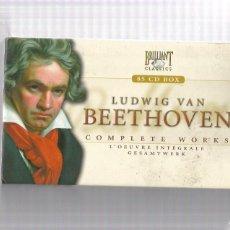CDs de Música: BEETHOVEN COMPLETE WORKS. Lote 263767870