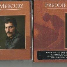 CDs de Música: FREDDIE MERCURY ALBUM 3 CDS. Lote 263784855