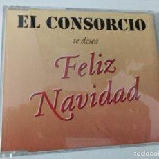 CDs de Música: CD SINGLE PROMO EL CONSORCIO TE DESEA FELIZ NAVIDAD / FELICITACION - 2 TRACKS CAJA FINA. Lote 263799635