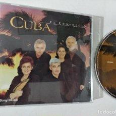 CDs de Música: EL CONSORCIO CUBA CD ALBUM 1998 14 TEMAS MOCEDADES SERGIO Y ESTIBALIZ AMAYA ROSA LEON IÑAKI URANGA. Lote 263799745