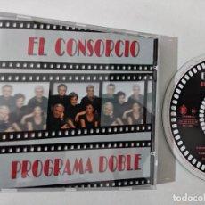 CDs de Música: EL CONSORCIO – PROGRAMA DOBLE - CD HISPAVOX 1996 - MELODICA - MOCEDADES. Lote 263799805