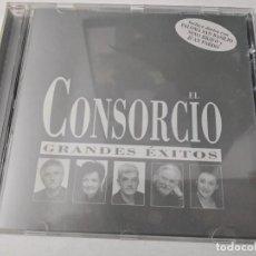 CDs de Música: EL CONSORCIO - GRANDÉS EXITOS - CD ALBUM - EMI - 1997. Lote 263799855