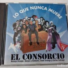 CDs de Música: EL CONSORCIO - LO QUE NUNCA MUERE. Lote 263799955