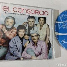 CDs de Música: EL CONSORCIO - CANCIONES PARA TODA LA VIDA [2 CD'S + DVD]. Lote 263800480