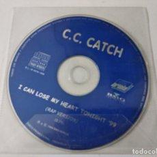 CDs de Música: C.C. CATCH - I CAN LOSE MY HEART TONIGHT CD SINGLE 1 TEMA PROMO SIN PORTADA 1997. Lote 263800575