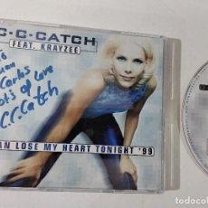 CDs de Música: C.C. CATCH I CAN LOSE MY HEART TONIGHT '99 CD-SINGLE (1998). Lote 263800665