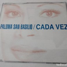 CDs de Música: PALOMA SAN BASILIO CADA VEZ PROMO CD-SINGLE. Lote 263800755