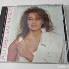 CDs de Música: PALOMA SAN BASILIO 15 EXITOS ORIGINALES CD ALBUM DEL AÑO 1989 CANADA CONTIENE 15 TEMAS. Lote 263801885