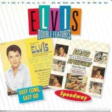 CDs de Música: ELVIS PRESLEY - EASY COME EASY GO + SPEEDWAY CD ALBUM USA 1995. Lote 263807020