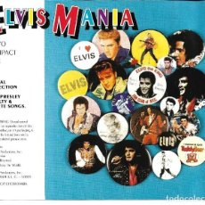 CDs de Música: ELVIS PRESLEY - ELVIS MANIA CD DOBLE 1991. Lote 263807185