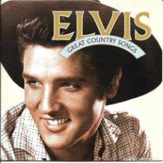CDs de Música: ELVIS PRESLEY - GREAT COUNTRY SONGS CD ALBUM USA 1996. Lote 263807230