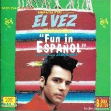 CDs de Música: ELVEZ - FUN IN ESPAÑOL CD ALBUM USA 1994 - ELVIS PRESLEY TRIBUTO. Lote 263807450