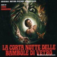 CDs de Música: LA CORTA NOTTE DELLE BAMBOLE VETRO / ENNIO MORRICONE CD BSO. Lote 263807945