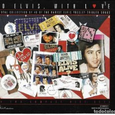 CDs de Música: ELVIS PRESLEY - TO ELVIS WITH LOVE CD ALBUM DOBLE CHECOSLOVAQUIA -. Lote 263808075
