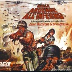 CDs de Música: DALLE ARDENNE ALL´ INFERNO / ENNIO MORRICONE CD BSO. Lote 263808610