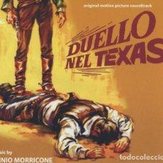 CDs de Música: DUELLO NEL TEXAS / ENNIO MORRICONE CD BSO - DIGITMOVIES. Lote 263809625