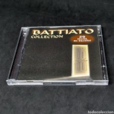 CDs de Música: FRANCO BATTIATO - COLLECTION - 29 TEMAS EN ESPAÑOL - CD DOBLE - RARO - 1996 - BATTIATTO BATIATTO. Lote 263809690