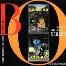 CDs de Música: EXTERIEUR, NUIT + POLAR / KARL-HEINZ SCHÄFER CD BSO. Lote 263809715