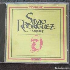 CDs de Música: SILVIO RODRÍGUEZ / MUJERES (CD 1991 FONOMUSIC EN EXCELENTE ESTADO). Lote 263890965